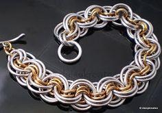 daisykreates: Ghenghiz Cohen Chainmaille Bracelet
