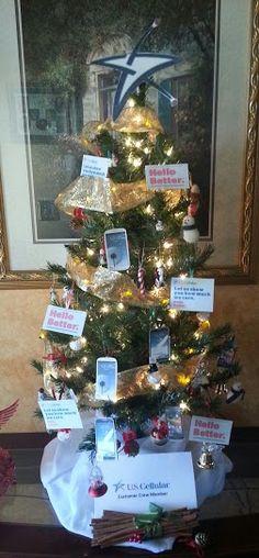 "U.S. Cellular Christmas Tree ""Hello Better"" Merry Christmas Everyone! USCC Customer Crew Member"