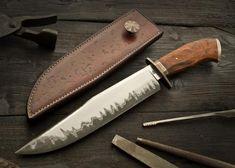 Bronze Bowie - Burt Foster knives