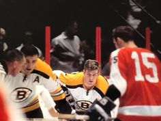 Orr and Espostio vs. Flyers. Bobby Orr c39b1a236
