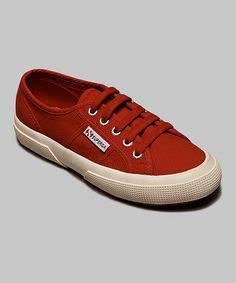 Look at this #zulilyfind! Red Cotu Classic Sneaker - Women #zulilyfinds