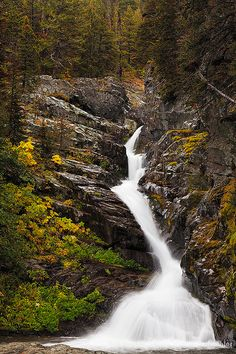 Aster Falls, Glacier National Park, Montana; photo by .Sarah Marino