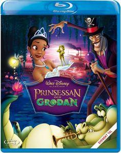 Disney klassiker 49: Prinsessan & Grodan (Blu-ray) (Blu-ray)