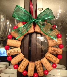 Wine Cork Christmas Crafts | Keep reading my blog for more exciting crafts and holiday treats :)