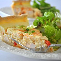 Sour Cream Chicken Quiche Recipe , Ingredients and detailed directions brought to you by Recipes A to Z Chicken Quiche, Best Beef Stroganoff, Yummy Noodles, Quiche Recipes, Savoury Recipes, Bacon Recipes, Egg Recipes, Recipies, Sour Cream Pound Cake