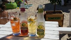 Somersby on the beach