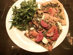 Joyous Health - homemade spelt pizza crust recipe. It smells wonderful ...
