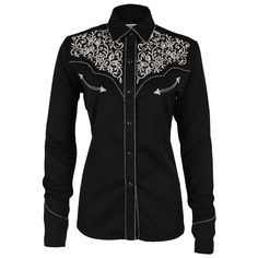 Shyanne® Women's Vintage Embroidered Western Shirt