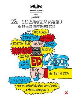 Red Bull Studios Paris presents: Ed Wreck Radio | Red Bull Studios Paris