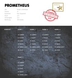 Freeletics Prometheus Workout - Prometheus consists of 5 rounds with 5 exercises each and can be completed in t Hiit, Cardio, Easy Workouts, At Home Workouts, Body Weight, Weight Lifting, Do Exercise, Summer Body, Health Fitness