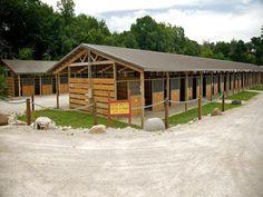 Breezeway stables