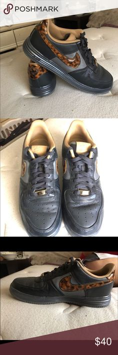 Looner force 1 Asking 40. Only wore a couple times. Nike Shoes Sneakers