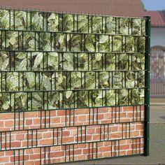Eine gute Idee als PVC Sichtschutz für den Gittermattenzaun ist eine Kombination von M-tec Print Aukube mit einem Sockel aus M-tec Print Backsteinmauer. https://www.m-tec-sichtschutz.de/shop/pvc-sichtschutzstreifen-motiv-bedruckt.html
