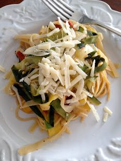 The Full Fridge: Zucchini Pasta
