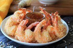 Coconut Shrimp with Thai Chili Ginger Sauce #MysteryDish