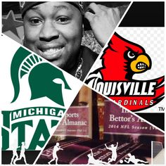 """3/29/15 NCAAB #MarchMadness : #MichiganSt #Spartans vs #Louisville #Cardinals (Take: Spartans -2.5,Under 128.5)  (THIS IS NOT A SPECIAL PICK ) """"The Sports Bettors Almanac"""" SPORTS BETTING ADVICE  On  95% of regular season games ATS including Over/Under   1.) """"The Sports Bettors Almanac"""" available at www.Amazon.com  2.) Check for updates   My Sports Betting System Is an Analytical Based Formula   """"The Ratio of Luck""""  R-P+H ±Y(2)÷PF(1.618)×U(3.14) = Ratio Of Luck  Marlawn Heavenly VII (…"""