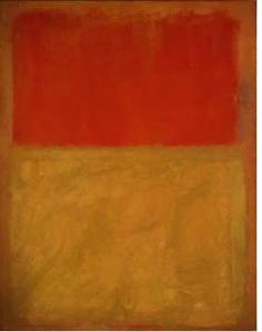 Mark Rothko, Orange and Tan,1954, National Gallery of Art, Gift of Enid A. Haupt, 1977.47.13