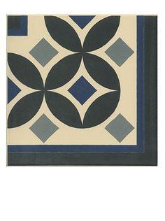 Carrelage Carreau aspect ciment angle guell - Saint Maclou