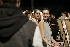 blackbirdsandswallows:    dailydavit:    Sonrisas y cosas    BACKSTAGE YOUNG DESIGNERS FASHION SHOWSMADRID 19h MATEDERO DE MADRID Backstage, Madrid, Bond, Concert, People, Bridges, Smile, Hipster Stuff, Concerts