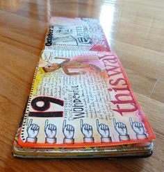 Happy Reminders: art journaling