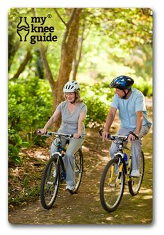 Bicycle riding is a great non-impact exercise after knee replacement surgery.