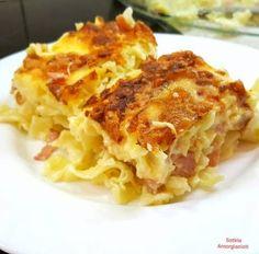 Σουφλέ με χυλοπίτες !!! Cookbook Recipes, Cooking Recipes, Baked Pasta Dishes, Pasta Bake, Appetisers, Greek Recipes, Lasagna, Food And Drink, Health Fitness