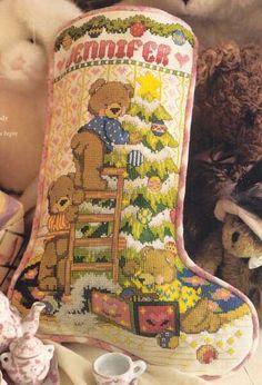 ru / Photo # 43 - Assembly - the Ka Cross Stitch Christmas Stockings, Cross Stitch Stocking, Xmas Cross Stitch, Cross Stitch Books, Xmas Stockings, Needlepoint Patterns, Counted Cross Stitch Patterns, Cross Stitch Designs, Cross Stitch Embroidery