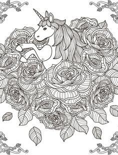 191 Melhores Imagens De Desenho Para Colorir Unicornio Em 2019
