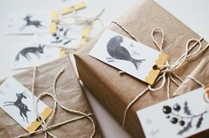 free printable gift tags by oanabefort, via Flickr