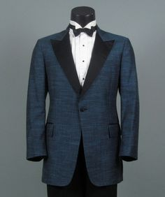 Vintage Mens Tuxedo Dinner Jacket 1960s AFTER SIX by jauntyrooster, $125.00
