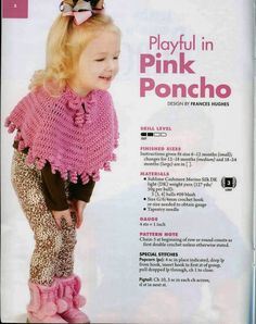 AA 871043 Little one's ponchos