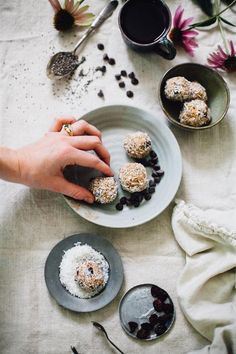 Nut Butter Balls with Ashwagandha  | Ginger Tonic Botanicals |