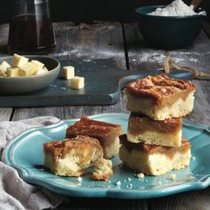 These squares have all the flavour of their tart-ed up cousin, and then some. Get these butter tart squares and more at Chatelaine.com