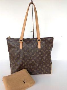 Louis Vuitton Cabas Mezzo Monogram With Dustbag Shoulder Bag $685
