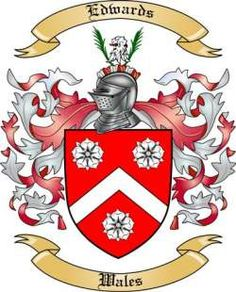 Edwards Family Coat of Arms from Wales