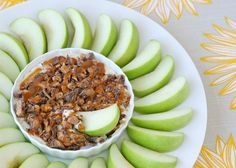Caramel Cream Cheese Apple Dip! YUM!