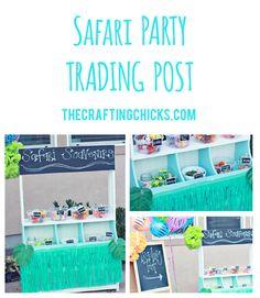 Safari Party Trading Post - Birthday Party Activity