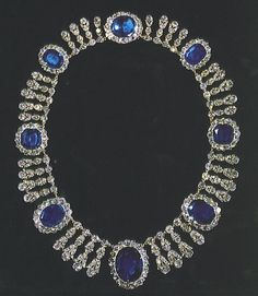French Diamonds and Sapphires