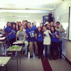 #HornsUp from Starpoint High School. Woohoo! Thanks for sharing on Twitter, @Joseph Cohen Licata! #ubuffalo #BowlingBulls Join us at: http://www.buffalo.edu/goubbulls.html
