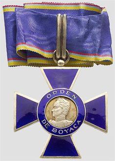 Kolumbien - Orden de Boyaca,