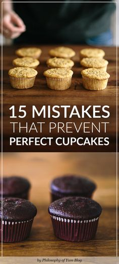 Solutions to ALL cupcake baking problems. Sinking Cupcakes, Shrinking Cupcakes, pointy volcano cupcakesHow to bake cupcakes with flat tops, a perfect shape and perfect texture. How to Bake Perfect Cupcakes - FULL Troubleshooting. Essential for every Home Baker's kitchen!