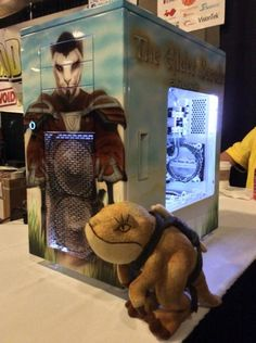 Holy Wamasu! Ollie found an amazing ESO tower in the BYOC QuakeCon. Well done, v1tech!