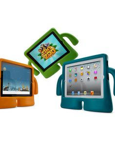 iPad holders for kids.