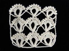Crochet : Punto Fantasia # 3 - YouTube