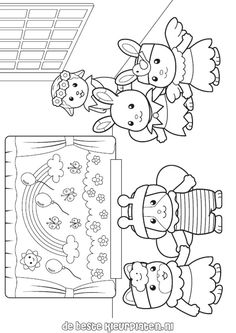 SylvanianFamilies001 coloring pages and you can find many more like
