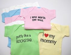 Custom Shirt with YOUR FUNNY SAYING baby onesie, Infant Tee, Toddler and Youth T-Shirts