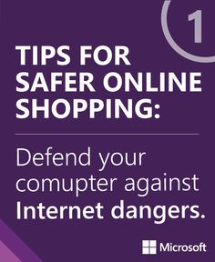 Here are 6 great tips for a safer online #shopping experience: http://msft.it/sopin826