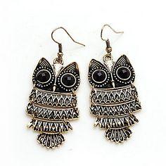 Hot Selling Unicorn Brincos New Girls Earing Bijoux Vintage Owl Stud Earrings For Women Jewelry Earings One Direction 2016 Owl Earrings, Girls Earrings, Pendant Earrings, Vintage Earrings, Drop Earrings, Jewelry Shop, Jewelry Stores, Jewellery, Women Jewelry