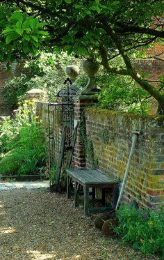 Gardener's Rest in the Walled Garden at Osterley Park by Jayembee69 on Flickr.