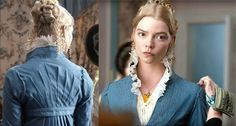 Emma's costume designer Alexandra Byrne has made a love letter to the Austen era. Alden O'Brien, Curator of Costume and Textiles at the DAR Museum explains. Jane Austen Movies, Emma Jane Austen, Working Title Films, Victory Curls, Emma Movie, Emma Woodhouse, Pride And Prejudice 2005, 2020 Movies, Anya Taylor Joy